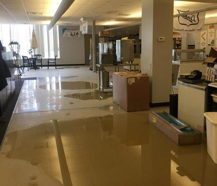 Flooded business Before