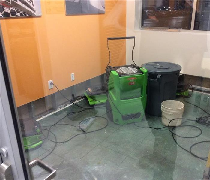 Flooded Office in Orrville, OH After